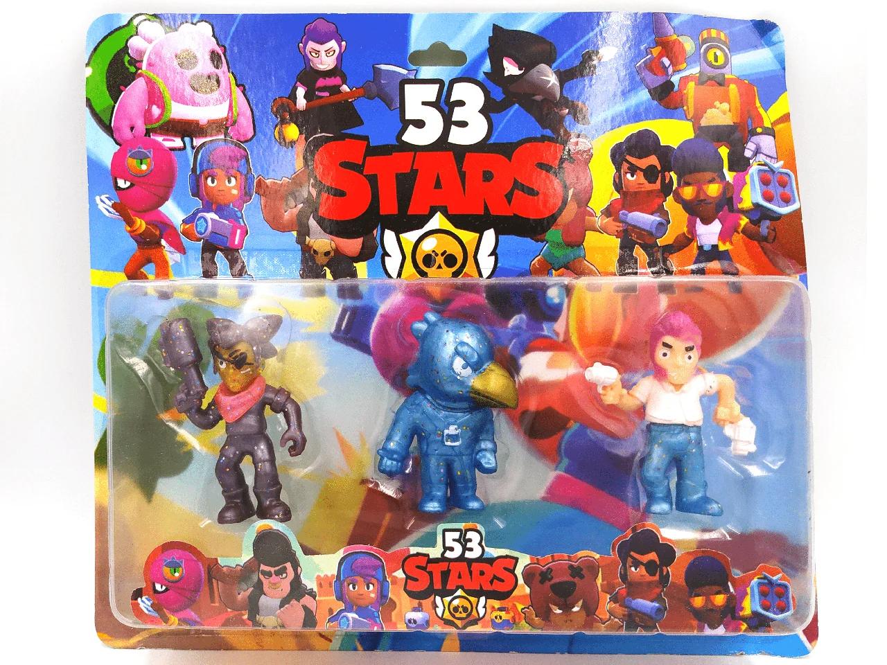 Фігурки Бравл Старс Brawl Stars 3 в 1 Вид 2