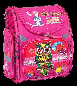 Рюкзак шкільний каркасний C 36185 (40) 1 відділення, 3 кишені, ортопедична спинка [Пакет] - 6900067361851