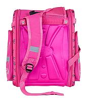 Рюкзак шкільний каркасний Сова з ортопедичною спинкою, фото 2