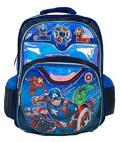 Рюкзак шкільний З 43574 (50) 3D принт, 1 відділення, 2 кишені, м'яка спинка, у пакеті [Пакет] - 6900067435743