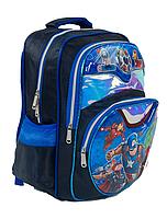Рюкзак шкільний З 43574 (50) 3D принт, 1 відділення, 2 кишені, м'яка спинка, у пакеті [Пакет] - 6900067435743, фото 2