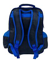 Рюкзак шкільний З 43574 (50) 3D принт, 1 відділення, 2 кишені, м'яка спинка, у пакеті [Пакет] - 6900067435743, фото 3