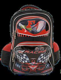Рюкзак шкільний З 43583 (50) 1 відділення, 3 кишені, м'яка спинка, у пакеті [Пакет] - 6900067435835