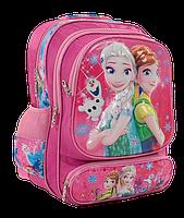 """Рюкзак школьный """"Холодное сердце"""" 3D принт Розовый, фото 2"""
