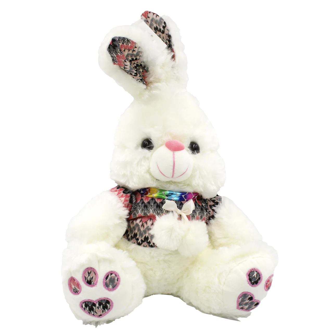 Мягкая игрушка Плюшевый Заяц Белый 31 см