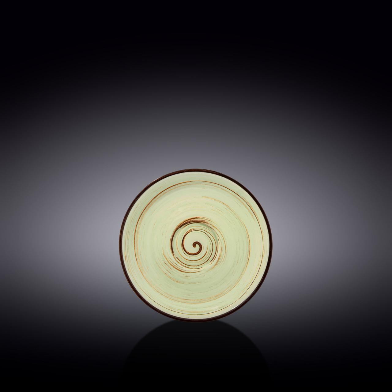 Блюдце Wilmax Spiral Pistachio WL-669134-B 12 см