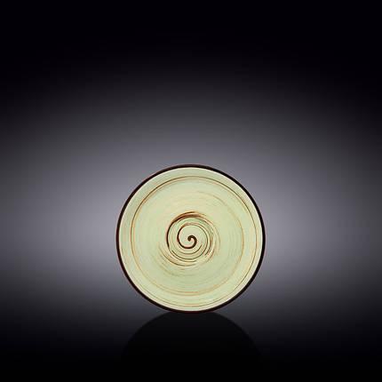 Блюдце Wilmax Spiral Pistachio WL-669134-B 12 см, фото 2