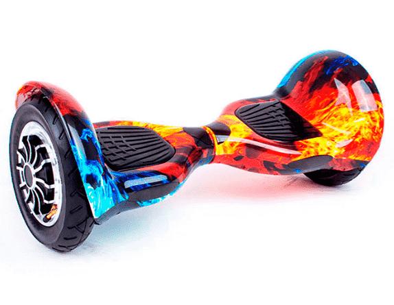 Гироборд Smart Balance 10 дюймів Вогонь і вода самобаланс   гироскутер дитячий Смарт Баланс 10 до 120 кг