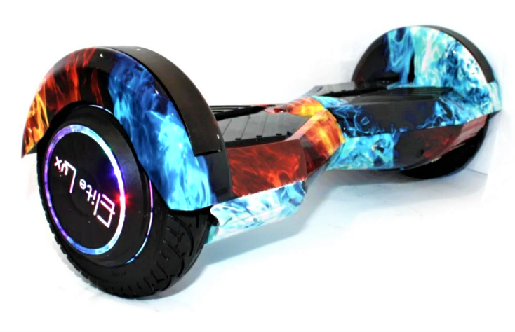 Гироборд Smart Balance 8 дюймов Огонь и вода самобаланс   гироскутер детский Смарт Баланс 8 LED фары