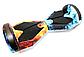 Гироборд Smart Balance 8 дюймов Огонь и вода самобаланс   гироскутер детский Смарт Баланс 8 LED фары, фото 7