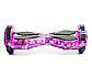 Гироборд Smart Balance 8 дюймів Космос фіолетовий самобаланс | гироскутер дитячий Смарт Баланс 8 LED фари, фото 3