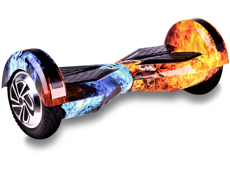 Гироборд Smart Balance 8 дюймов Огонь и лед самобаланс   гироскутер детский Смарт Баланс 8 LED фары
