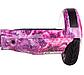Гироборд Smart Balance 8 дюймов космос Розовый самобаланс | гироскутер детский Смарт Баланс 8 LED фары, фото 9