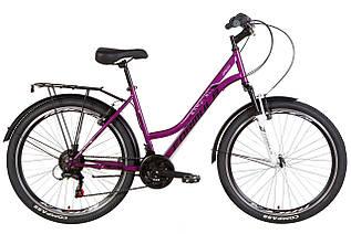 """Велосипед міський жіночий 26"""" Formula Omega AM Vbr 2021 рама 18"""" фіолетовий"""