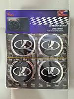 Наклейки на ковпачки, заглушки, наклейки на диски 60 мм ВАЗ Лада Самара