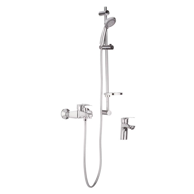 Комплект смесителей для ванной Haiba HANSBERG SET - 1 (HB0900)