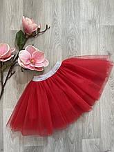 Пышные фатиновые юбки под вышиванку детские и взрослые