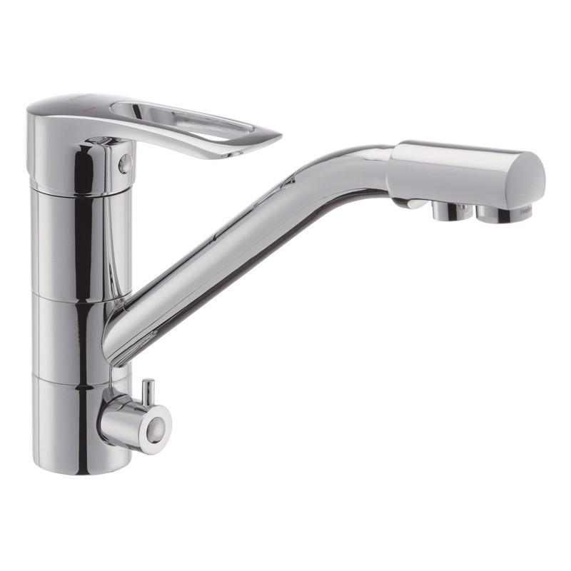 Змішувач для кухні Haiba HANSBERG 021 з виходом для питної води (HB0681)