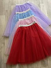 Красная юбка под вышиванку