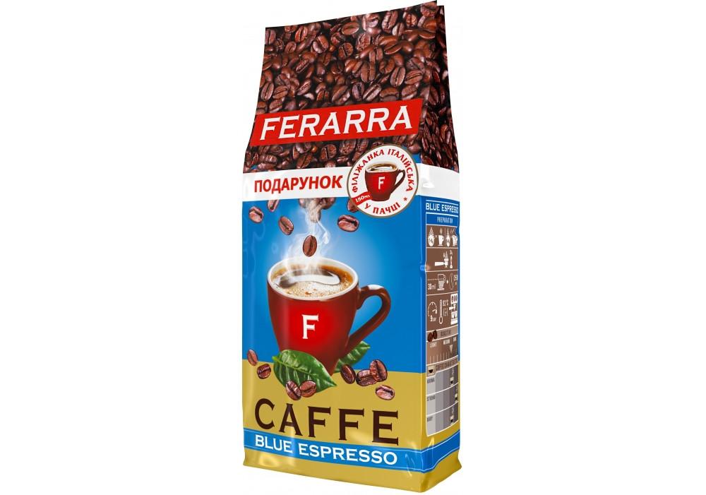 Кава зернова Ferarra Blue Espresso 1000 грам