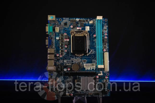 Материнская плата ASL XSH61M-V3 LGA 1155, фото 2