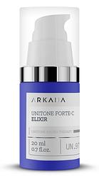 UniTone Forte-C Elixir - концентрат з 10% стабільним Vit C, вирівнює тон шкіри, 20 ml