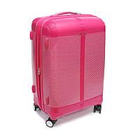 Дорожня валіза з поліпропілену велика Snowball рожева, фото 1