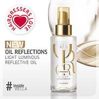 Легкое масло для волос  с анти-оксидантами WELLA  Oil Reflections Light Luminous