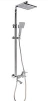 Душевой набор со смесителем MIXXUS PREMIUM PATRICK Chr-009-J душевой гарнитур с тропическим душем