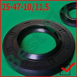 Сальник 25-47-10/11,5 GP RIC.EL
