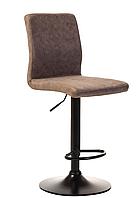 Барний стілець Vetro Mebel B-107 з регулюванням висоти попелястий антик
