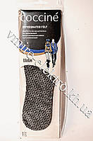 Стельки зимние импрегнированный войлок Coccine 43 размер, фото 1