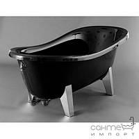 Ванна из литого мрамора Marmite Romance R (чёрный)174.5х72х80.5см
