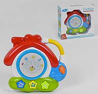 Музыкальный домик-барабан Small Toys 965 с подсветкой 2-80258 TV, КОД: 1249447
