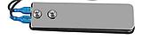 Педаль з нержавіючої сталі ножна для тату машинки, машинки для татуажу з чорним шнуром, фото 6