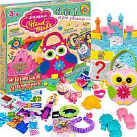 Набір для творчості 6в1 в коробці Fun Game SKL11-297545