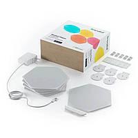 Комплект розумних світлових панелей Nanoleaf Shapes - Hexagon Starter Kit - 9 шт.