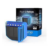 Двойное вставное реле со счетчиком электроэнергии Z-Wave Qubino Flush 2 Relay — GOAEZMNHBD1