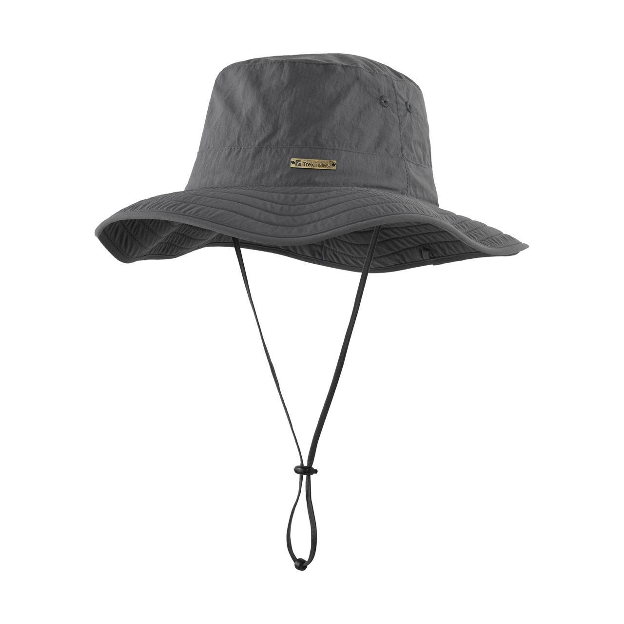 Шляпа Trekmates Gobi Wide Brim Hat, Ash, S/M