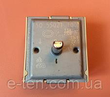 Переключатель мощности двухзонный EGO  50.55021.100 / 13А / 230V для стеклокерамических поверхностей  Германия