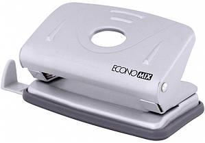 Дирокол для паперу металевий Economix,10 аркушів E40130