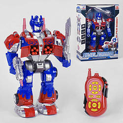Музыкальный робот Small Toys 6020 12 функций Красно-синий 2-92619A ES, КОД: 2457417