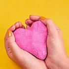 Пісок для дитячої творчості - Kinetic Sand Рожевий блиск 71489P, фото 5