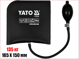 Подушка монтажная 135 кг, высота-50 мм, габариты - 165 Х 150 мм Yato YT-67381