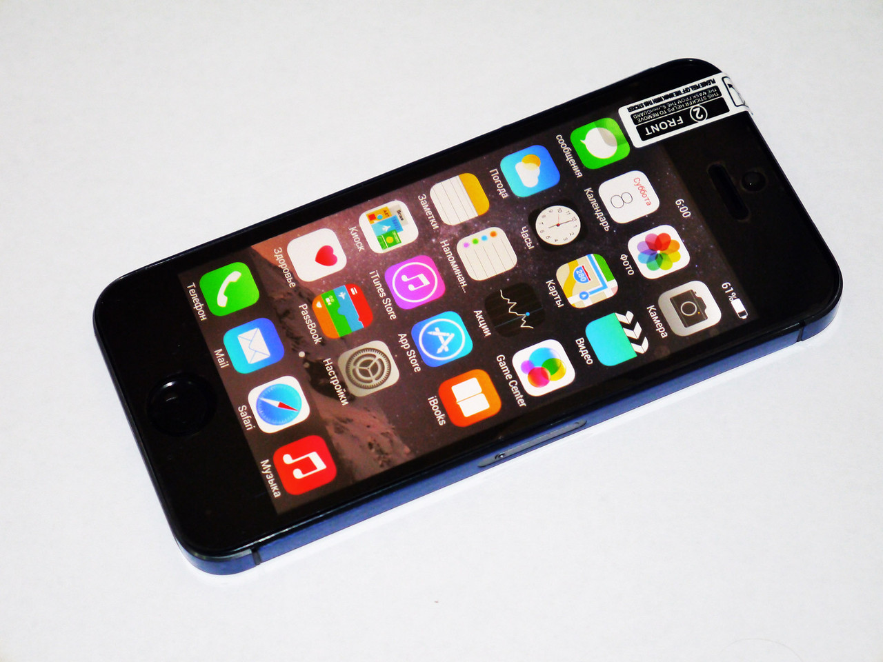 IPhone 5S Android 2Ядра +512RAM +8GB Rom +GPS