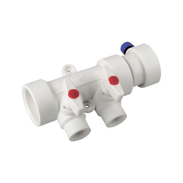 KP ППР Колектор 2-way з кульовими кранами