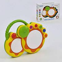 Барабан детский WD-3667 Желтый 2-3667-74235 TV, КОД: 974565