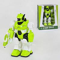 Музыкальный робот Small Toys 605 Салатовый 2-82836A TV, КОД: 2457418