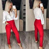 Жіночий костюм двійка брюки з блузкою SKL11-280493, фото 2