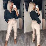 Женский костюм двойка брюки с блузкой SKL11-280497, фото 2